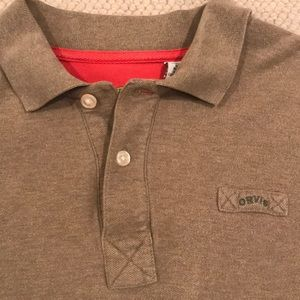 Orvis 100% Cotton Long Sleeved Signature Polo